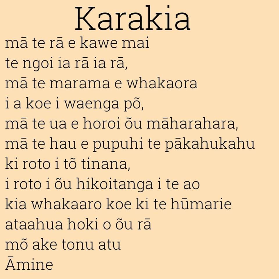 Maori Karakia Or Prayer May The Sun Bring You Energy By Day May