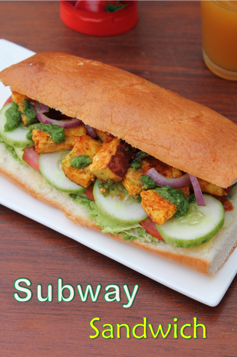how to make subway veggie delight at home