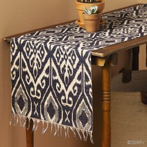 Troso Table Runner   Serrv || This Table Runner Is A Modern Twist On A