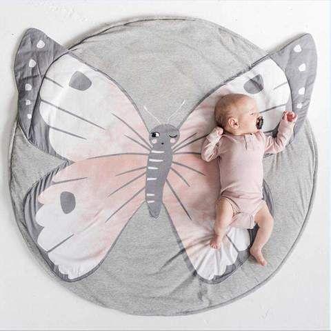 Best Butterfly Playmat Creeping Carpet Textured Carpet 400 x 300