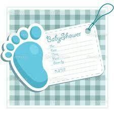 Convite para Chá de Bebê.