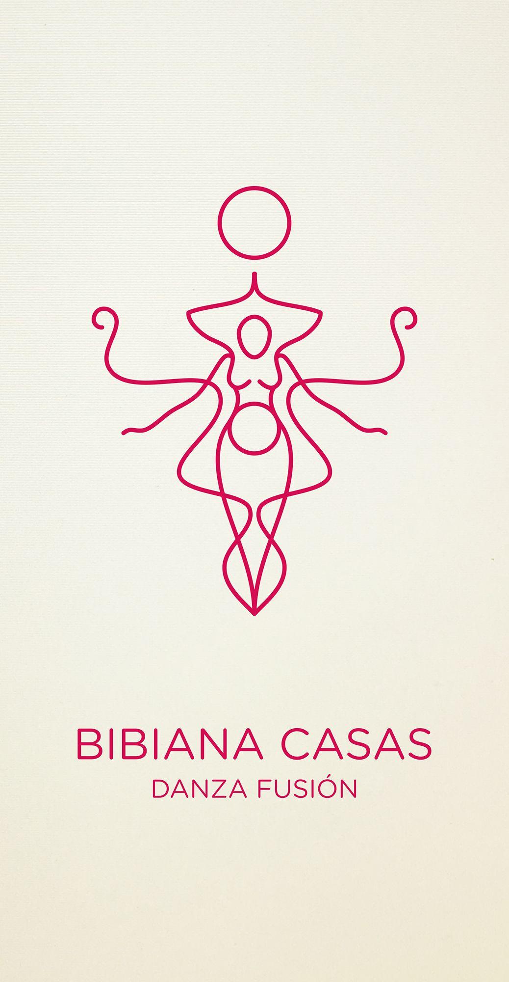 Logo Bibiana Casas - Fusion Dance, by Quatreeles