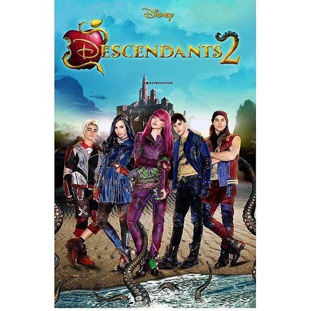 Descendants 2 poster I can't wait | Descendants 2 ...