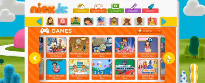 Preschool Games, Nick Jr. Show Full Episodes, Video Clips