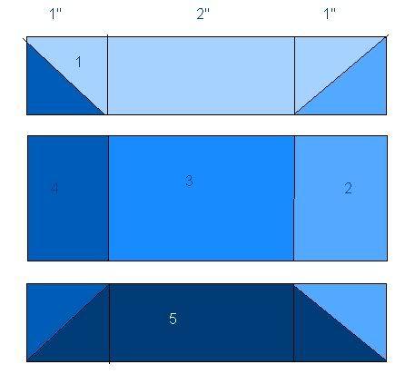QuilterGeek: How to make a Tetris Quilt | tutorials | Attic window