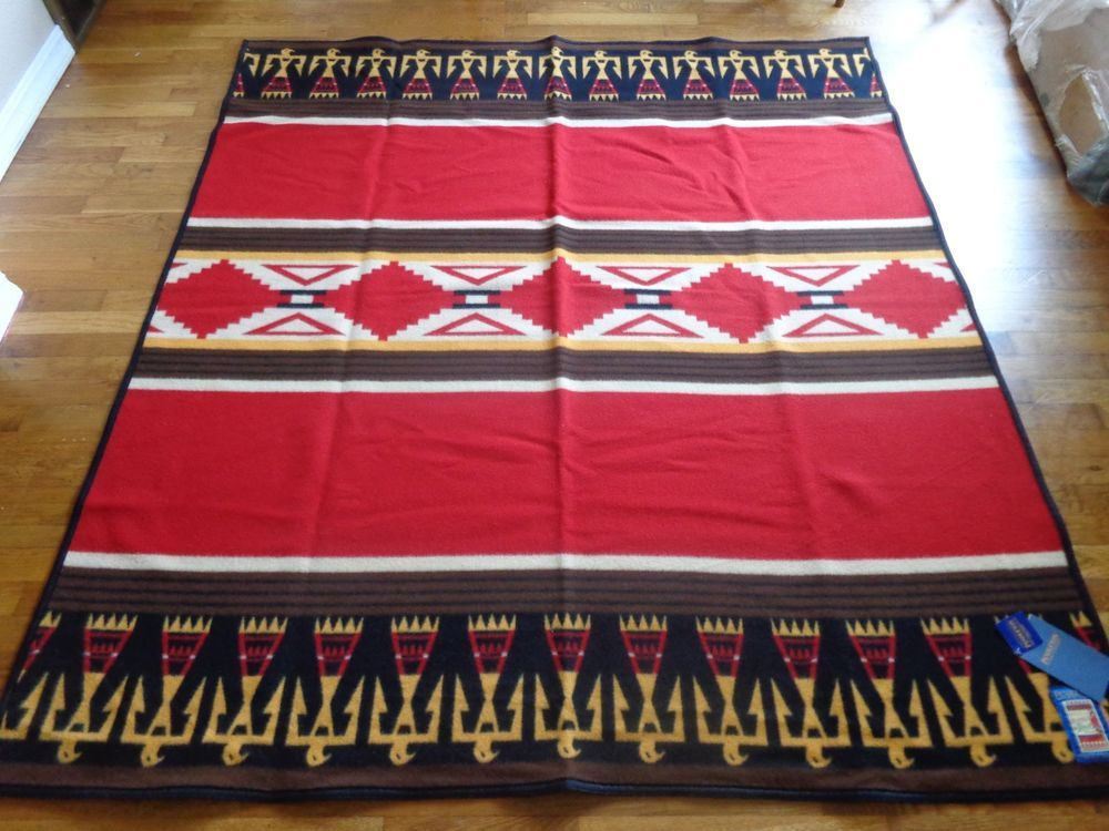 NEW WITH TAGS PENDLETON MADE IN USA RETIRED BUELL #3 TRIBUTE BLANKET