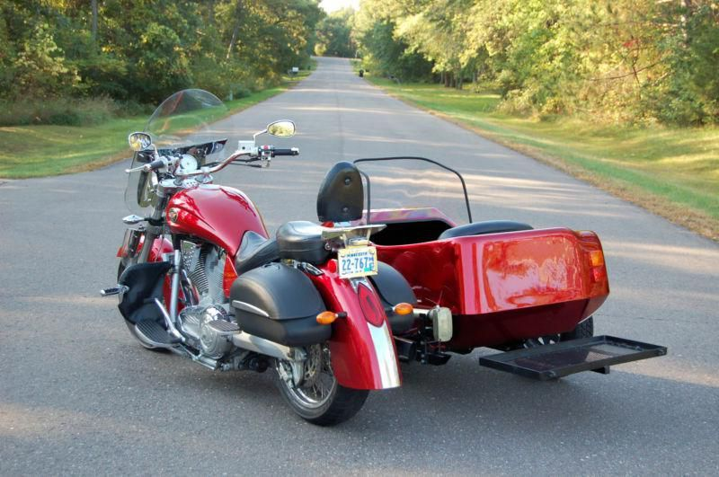 Victory Motorcycle/Motorvation Sidecar for sale on