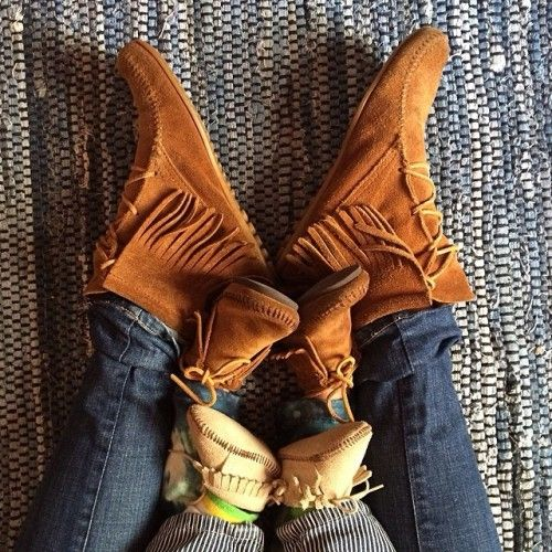 Have to find baby Anderson some mocs. Whether I have a boy or girl, baby has to have a bit of mommy's hippie style