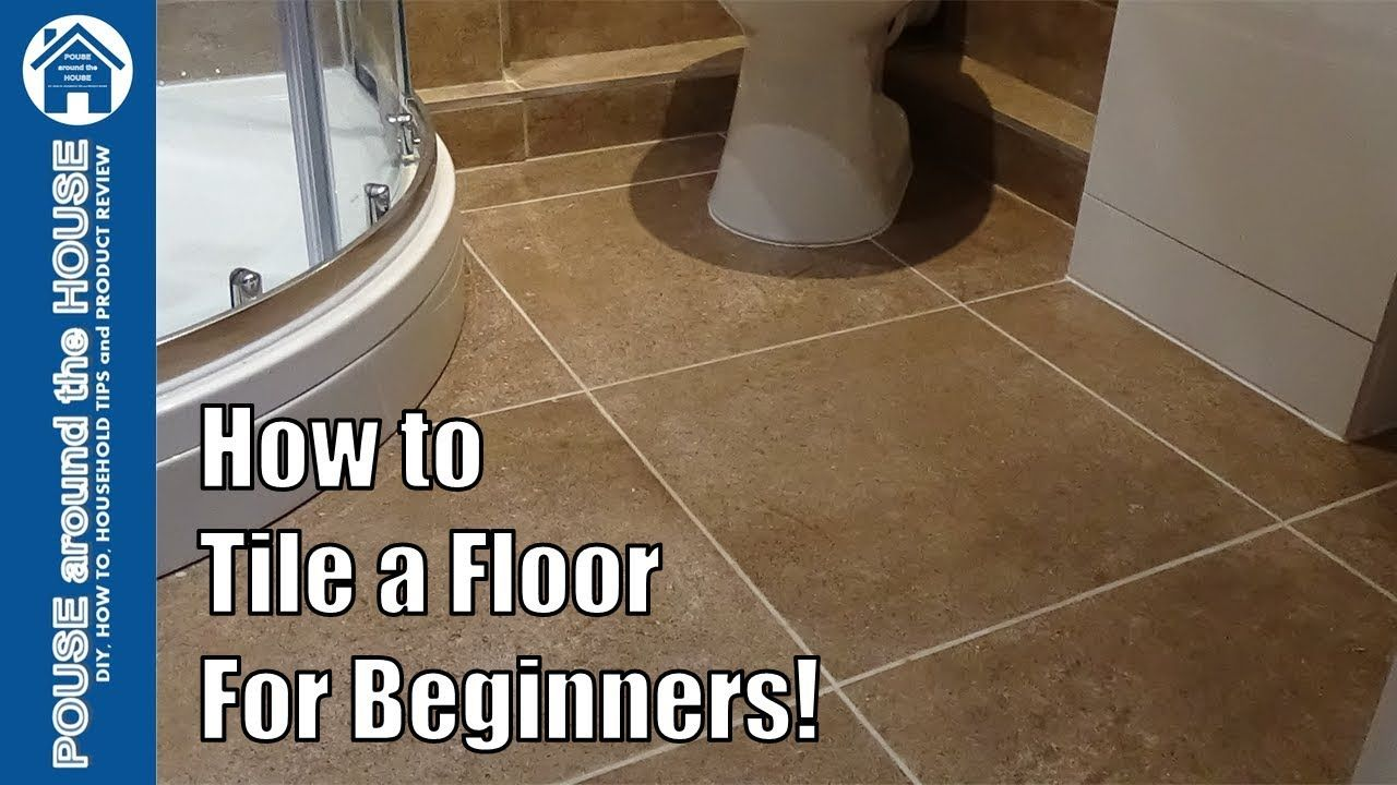 How To Tile A Bathroom Shower Floor Beginners Guide Tiling Made Easy For Diy Enthusiasts Youtube In 2020 Bathroom Tile Diy Shower Floor Bathroom Remodel Small Diy