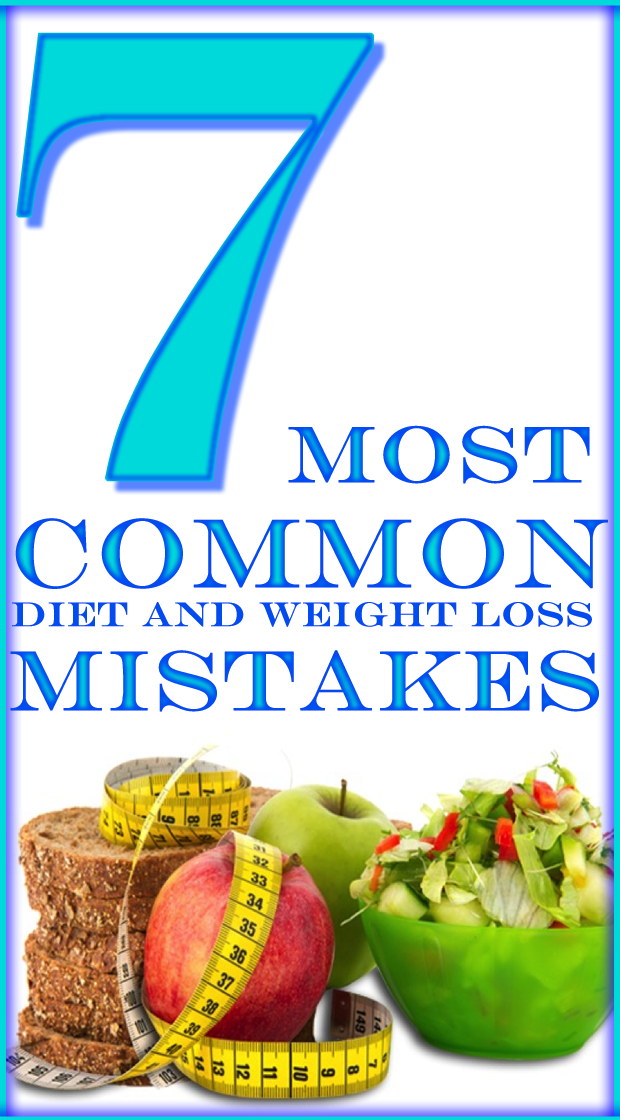 There's is a big number of mistakes we're usually making in our diet and weight loss plans. When trying to lose weight it's really important to stay focused and never take extreme measures. Balanced diet is the best diet. Try to avoid the next few mistakes.                                                                                                                                                     More