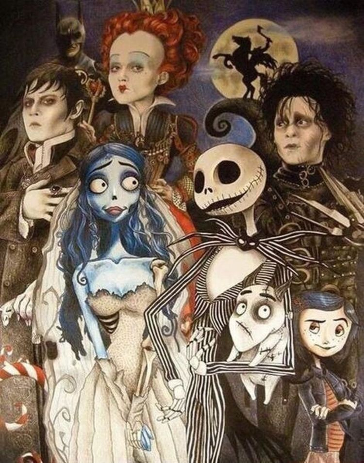What Tim Burton Character are you? - Quiz