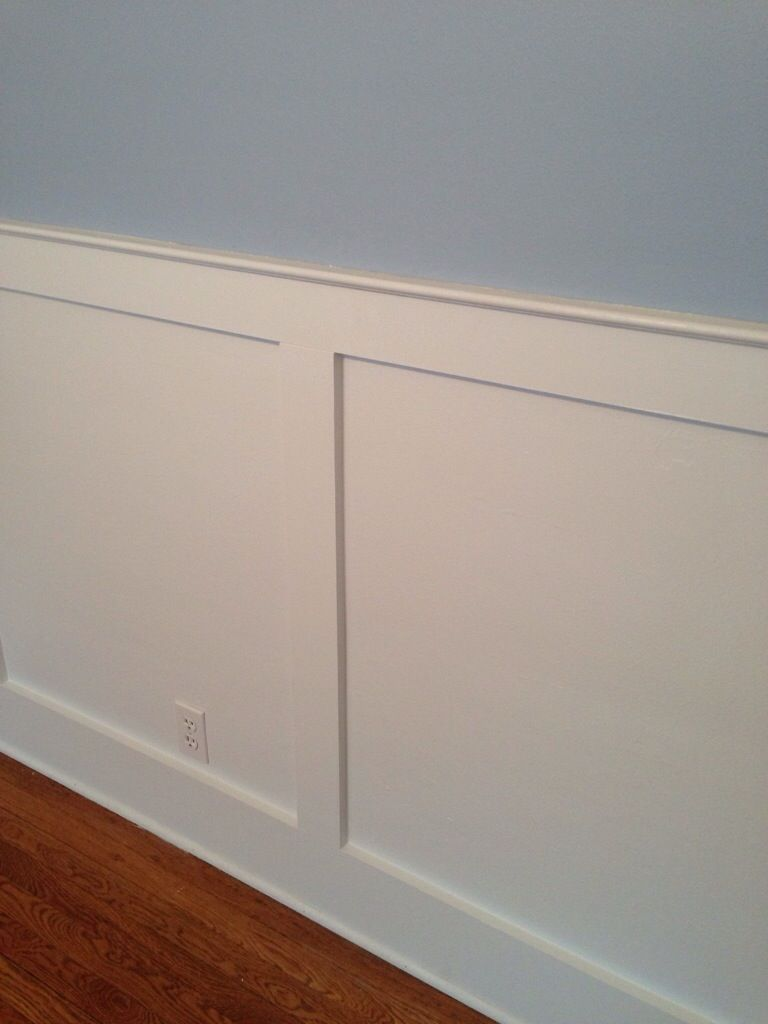 Shaker Style Chair Rail Or Wainscotting Wainscoting