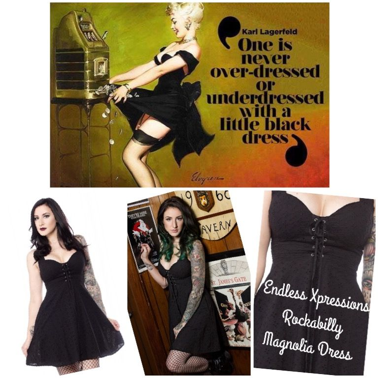 Wholly... I absolutely love this little black dress! This just arrived and its HOT HOT HOT!!   The Magnolia Dress is grunge-goddess perfection.   Our newest silhouette features lightly padded bra cups, a lace-up, corset-style bodice, a sweet, black, eyelet fabric and pockets!!!! It's also fully lined and amazingly figure flattering. Quantities are limited, so don't wait around on this one!  Interested? PM me or click the link.