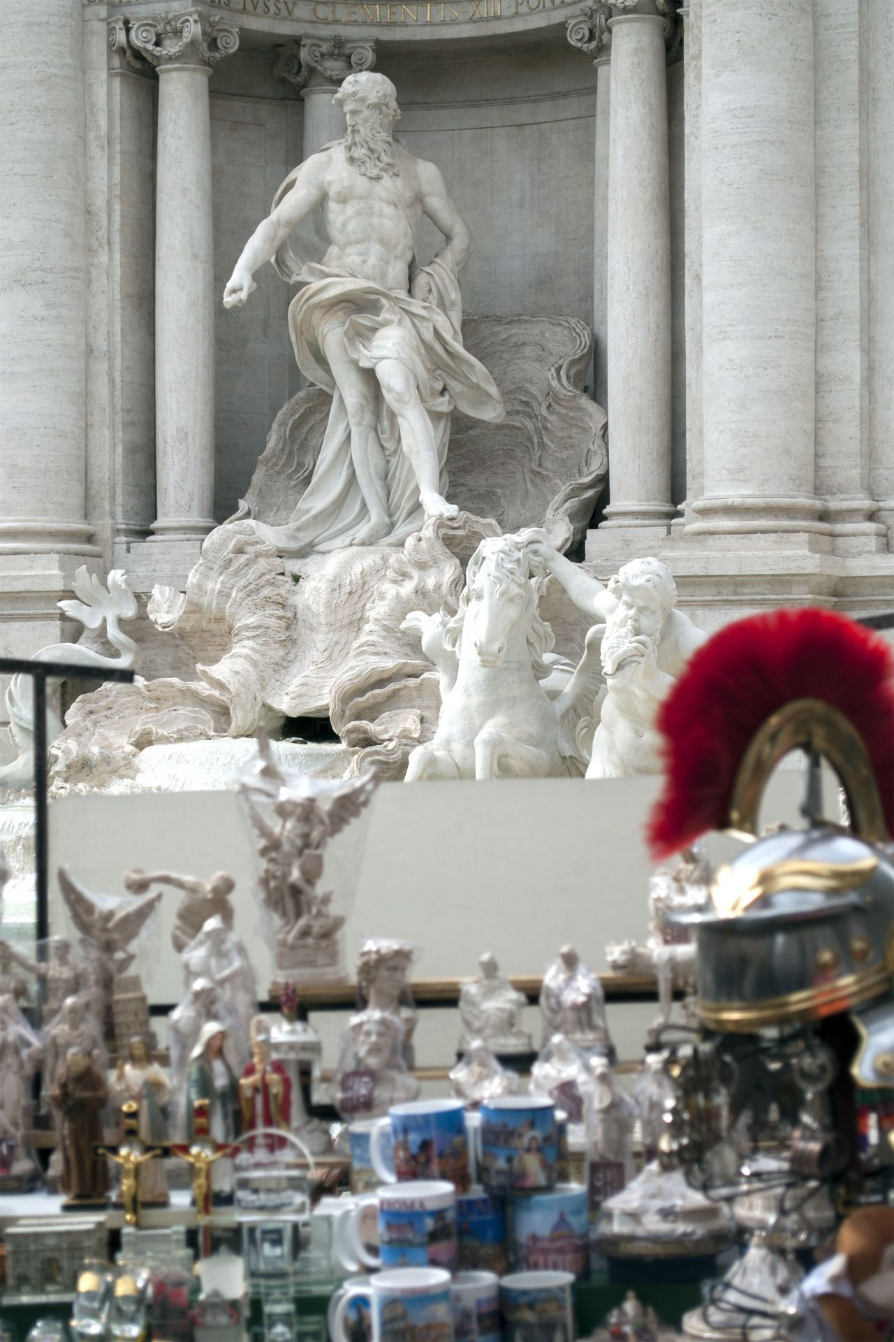"massimolanzi: ""Baroqkitch Rome, fontana di Trevi, 2016 """