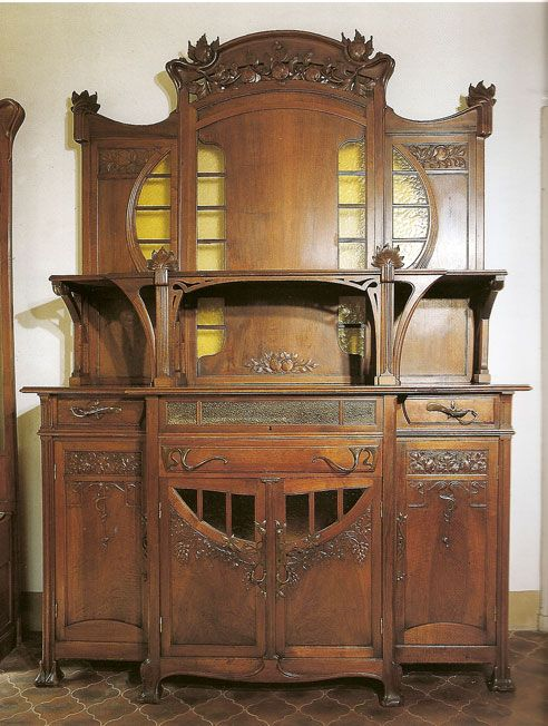 arte liberty in italia ebanisti art nouveau furniture