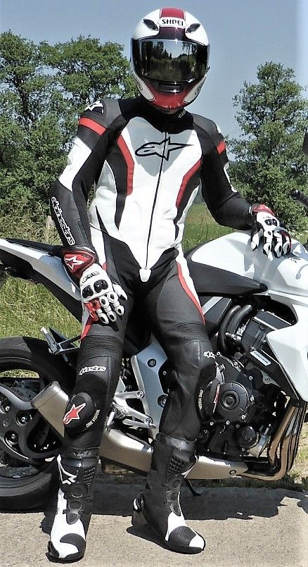 from Troy gay sport bike rider