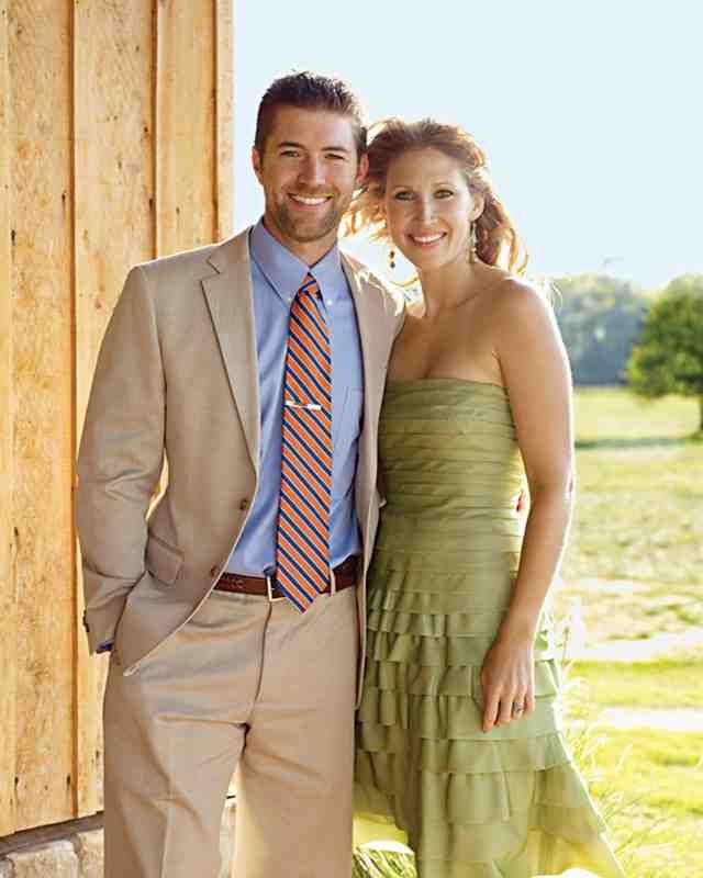 Summer Wedding Suit Ideas For Guest: Josh Turner And His Wife, Jennifer. I Honestly Don't Think