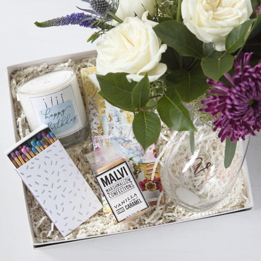 Best Birthday Gifts For Her Custom Gift Sets Unique Boxes Fresh Flower Delivery Pittsburgh