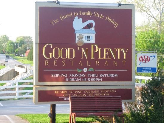 Good N Plenty Restaurant, Pennsylvania In 2019  Best -5475