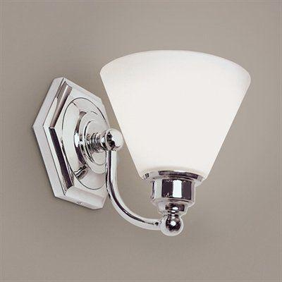 Bathroom Lighting Universe $135 hexagon sconce - master bath - lighting universe shown in