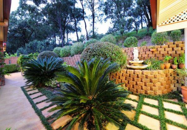 Moderne Gartengestaltung - 100 erstaunliche Gartenideen Garten - moderne gartengestaltung mit pool
