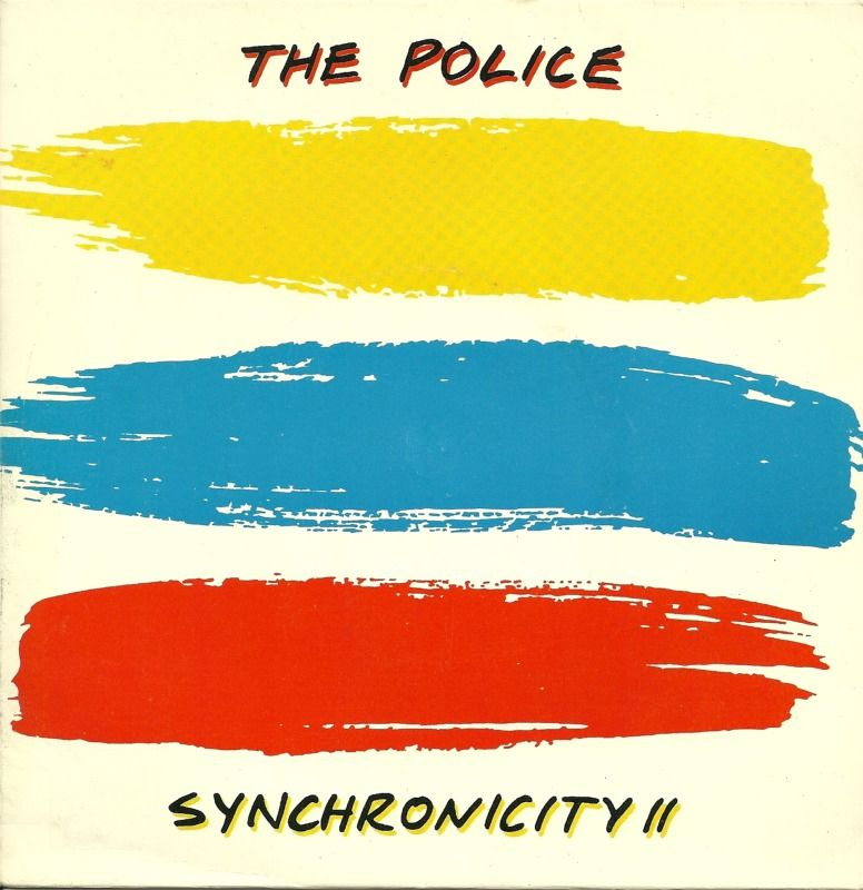 """Synchronicity II"" '7 single (1983) by The Police - although this was an…"