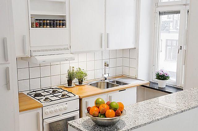 Pequeña cocina bien distribuida | Casas | Pinterest | Pequeños ...