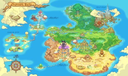 500px fantasy life mapg 500300 game world maps pinterest reveria is the main continent of fantasy life this world was under danger due to lunares gumiabroncs Choice Image