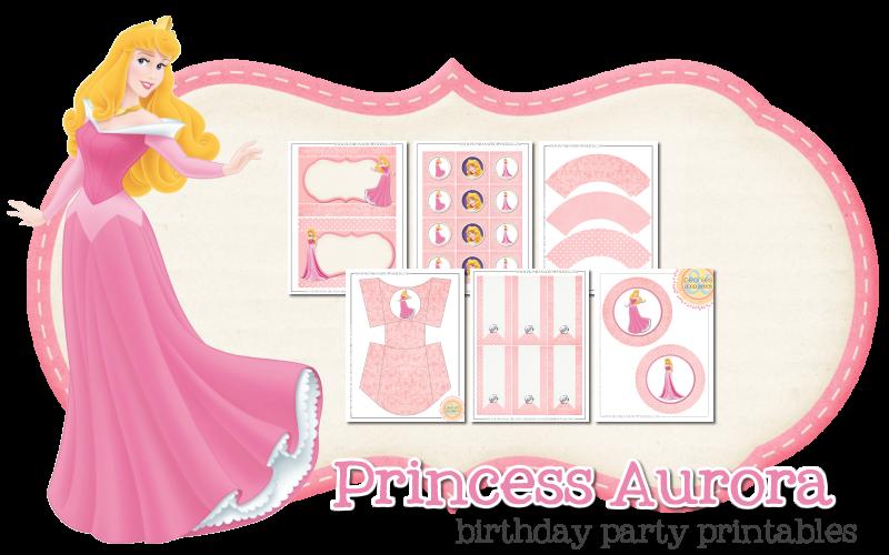 Imprimibles gratis para decorar una fiesta de princesas ...