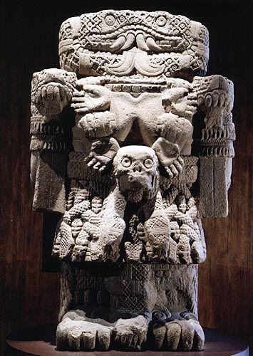 Coatlicue Aztec Art Aztec Pictures Art