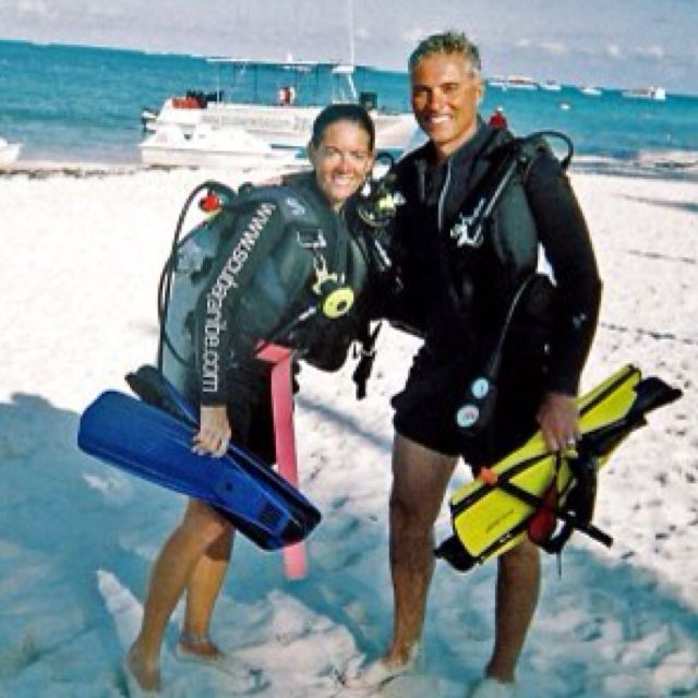 The open water scuba divers!!!