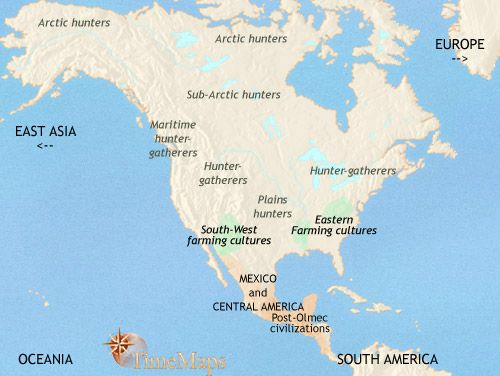 North american native tribes on interactive history map from north american native tribes on interactive history map from timemaps gumiabroncs Image collections