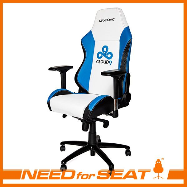 MAXNOMIC Computer Gaming Office Chair - Cloud 9 Edition | NEEDforSEAT USA  sc 1 st  Pinterest & MAXNOMIC Computer Gaming Office Chair - Cloud 9 Edition ...