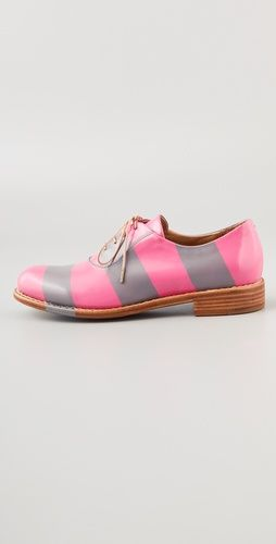 Photo of The Office of Angela Scott Mr. Smith Striped Oxfords