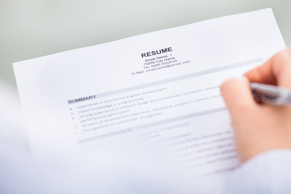 when sending out resumes to potential employers  these are subtle resume mistakes you should