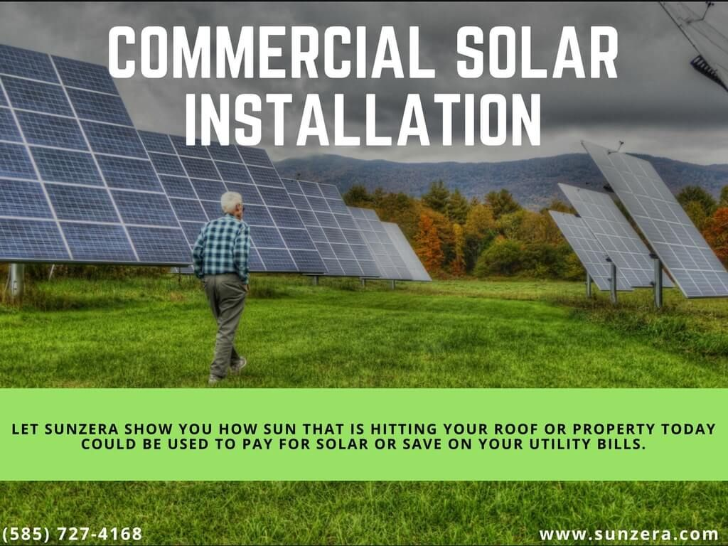 Sunzera Is Committed To Provide You The Solar Power System In Rochester Ny That Meets Your Needs We Provide Yo Solar Installation Solar Solar Panel Companies