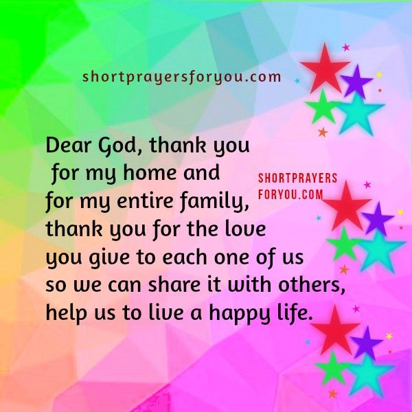 3 Short Prayers for Children saying Thank you | Prayers for children
