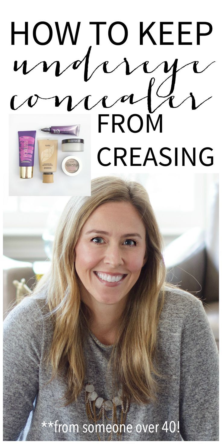 Concealer Creasing: How To Keep Undereye Concealer From Creasing