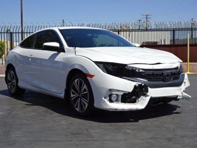 T And T Repairables >> Low Miles 2017 Honda Civic Ex T Repairable Damaged Car