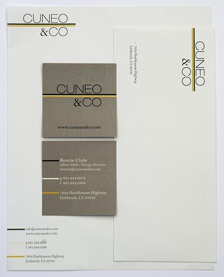 Business Cards And Letterheads Google Search: Interior Design Business Envelope