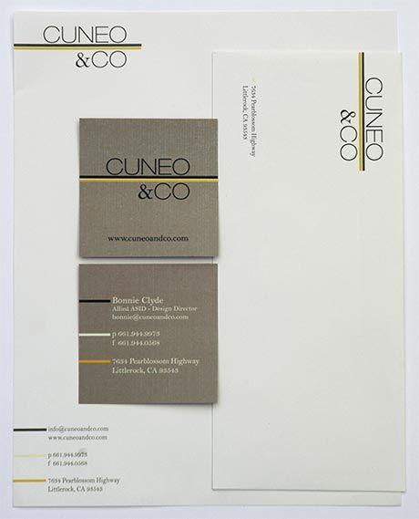 Interior Design Business Envelope
