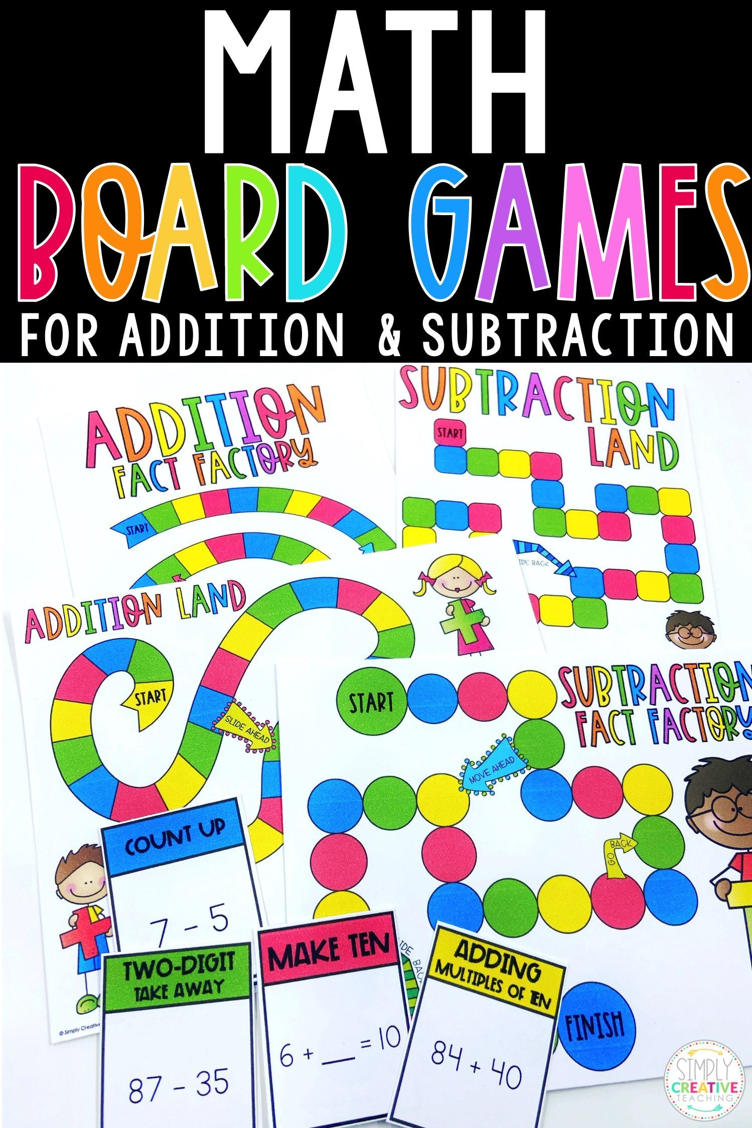 Your 2nd And 3rd Grade Students Will Have So Much Fun Practicing 2 Digit And 3 Digit Addition With This Exciting Scoo Addition Games Addition Practice Fun Math