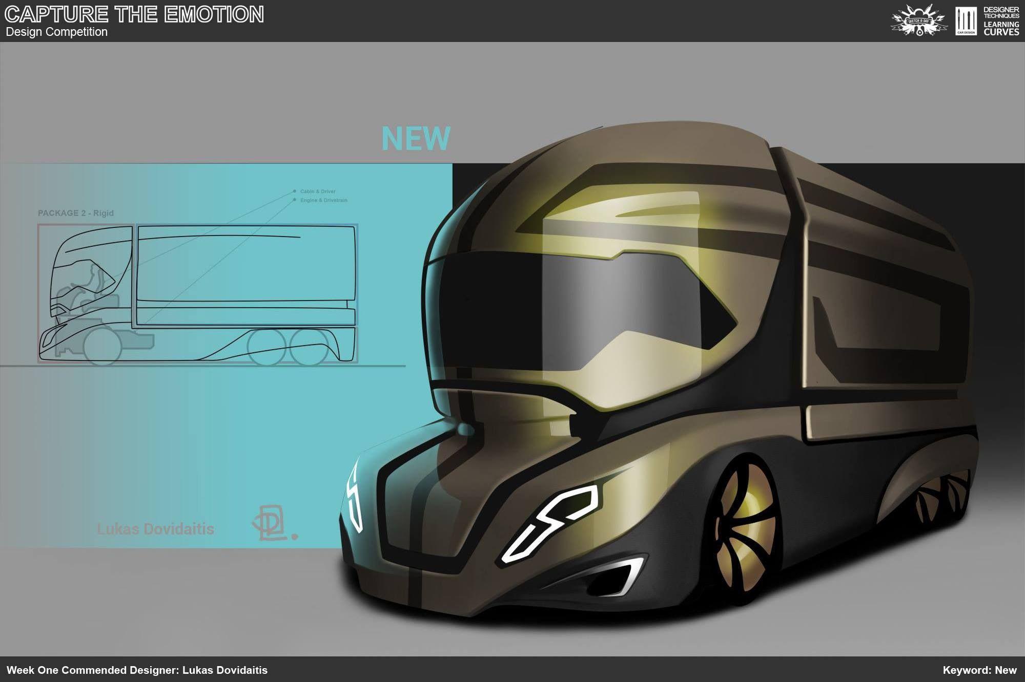 Trucks Design Compeion