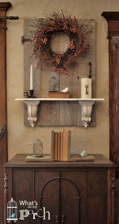 autumn projects candy jars wreath door fall decor ideas pinterest haus m bel und deko. Black Bedroom Furniture Sets. Home Design Ideas