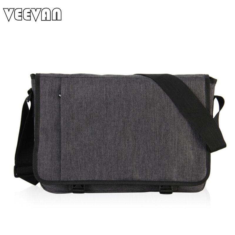 0656ba6830 VN 2016 Designer Briefcase Men Messenger Bags Vintage Canvas Shoulder Bag  Mens Buisness Bag Attache Laptop