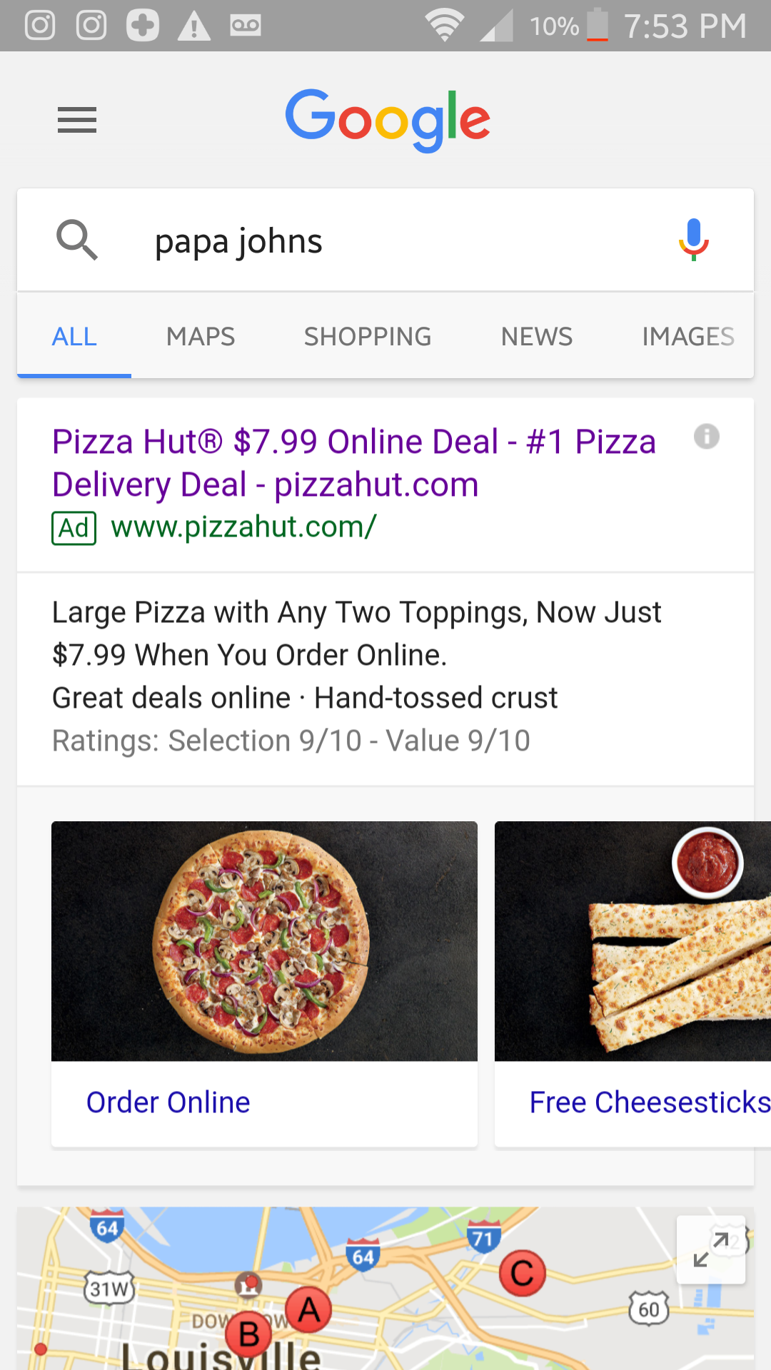 Ordered a pizza from Japa John\'s and was really confused when pizza ...