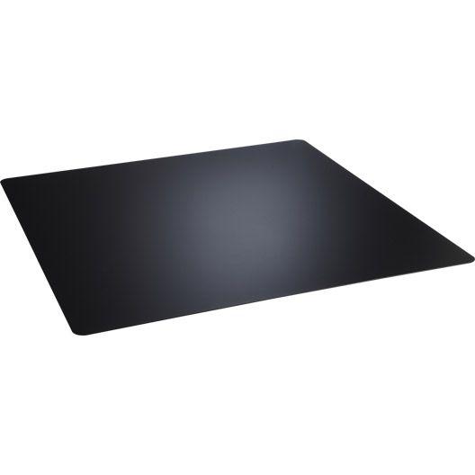 Plaque De Protection Sol Noir Dixneuf Carree L 100 Cm X H 100 Cm