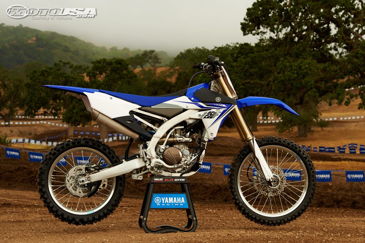 Yamaha Unveiled The All New 2014 Yz250f Entire Bike Has Been Honda 250cc Dirt Redesigned For Dominance In 4 Stroke Field
