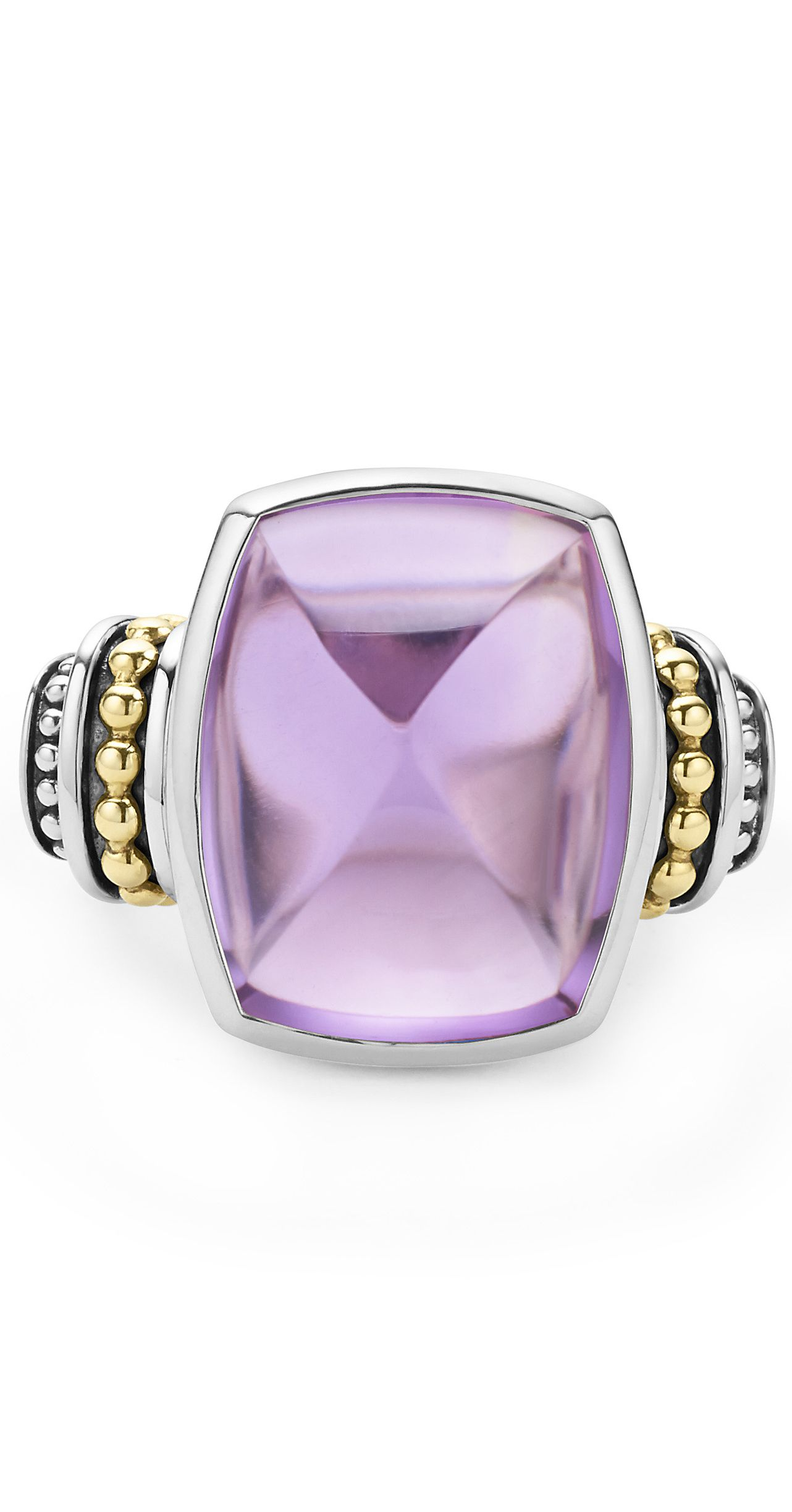 framed more colors with this gemstone complimentary extra pin cute cut gemstones rings make adorable cushion checkerboard ring your purple color