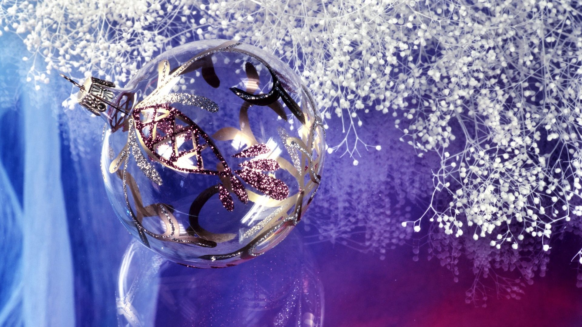 Purple And Silver Backgrounds Christmas Wallpapers Your